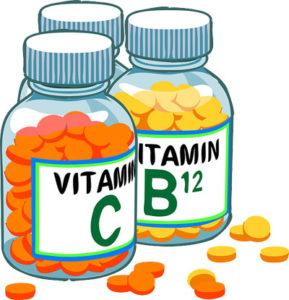 Apports en vitamines dans déshydratation alimentaire