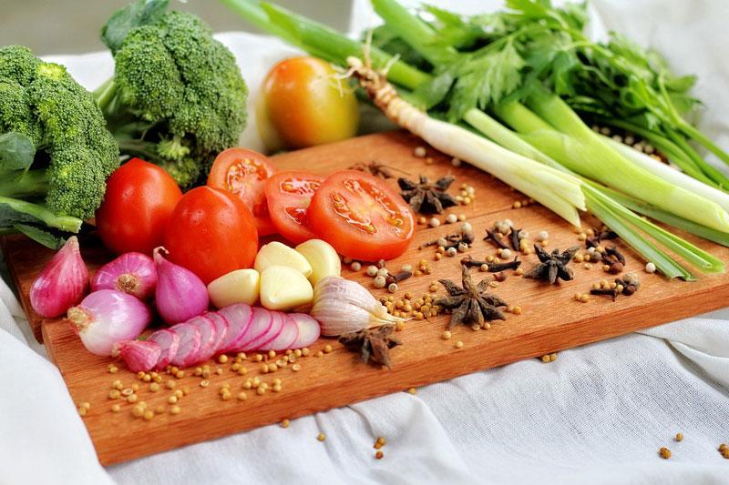 Alimentation saine et crue