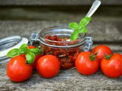 Recette avec des tomates séchées
