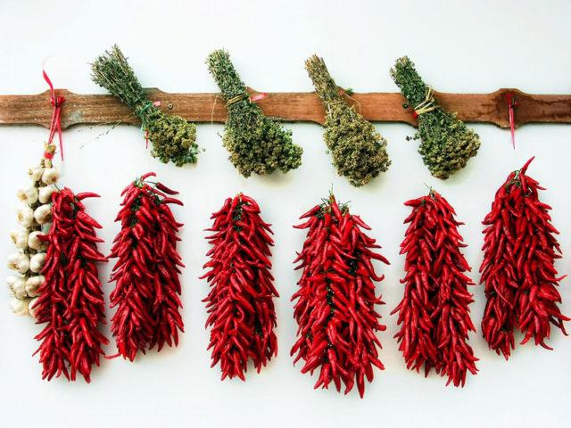 Herbes aromatiquess séchées