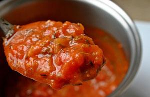 Coulis de tomates au blender