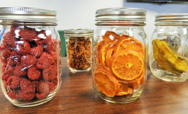 Comment faire des fruits séchés