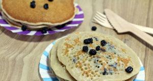 Recette au déshydrateur : pancakes aux myrtilles