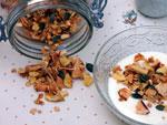 Muesli aux fruits séchés et céréales