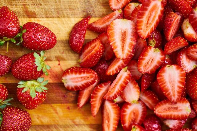 Faire sécher des fraises