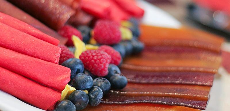 Faire des cuirs de fruits au déshydrateur