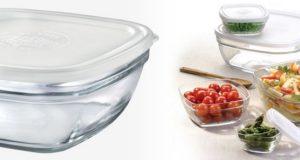 Boites de conservation en verre Duralex
